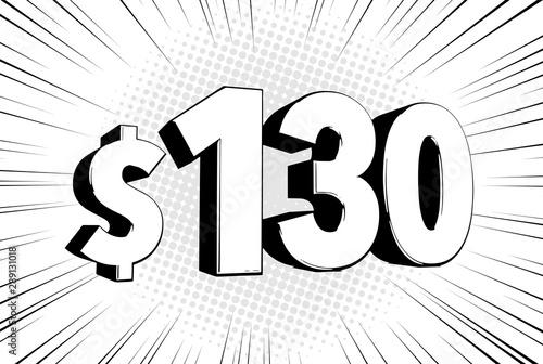 Papel de parede  130$ one hundred thirty price symbol