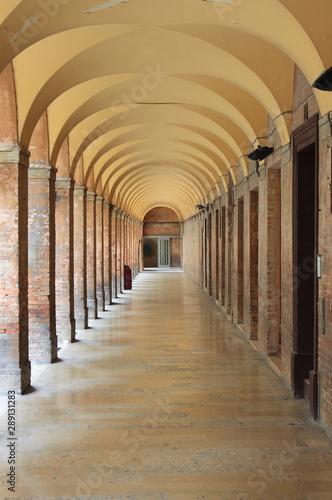 Colonnade in Urbino, Italy Wallpaper Mural
