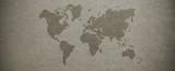 Textured world map background