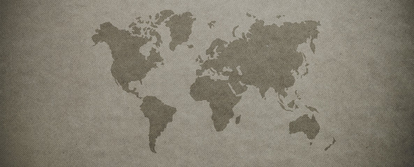 Textured world map background