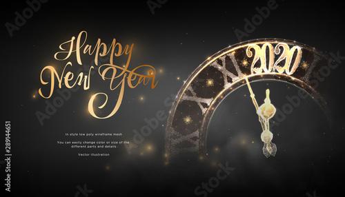 Fotografiet  Happy New Year 2020