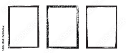 Obraz Grunge frame - stock vector. - fototapety do salonu