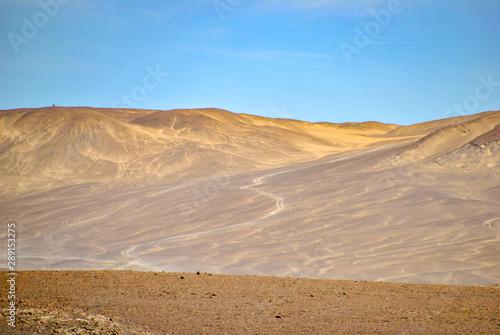 Atacama desert in Peru