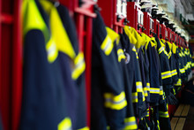 Firefighter Suits And Helmets ...