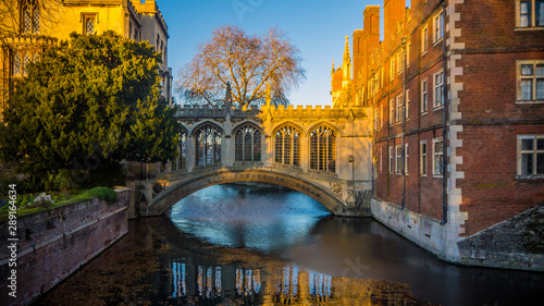 Canvas Print Bridge of Sights Cambridge