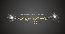 We Wish You Happy New Year 202...