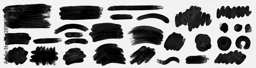Cuadros en Lienzo Brush paint