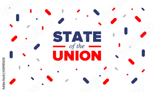 State of the Union Address in United States Canvas Print