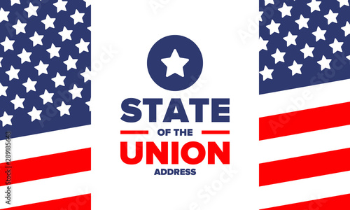 State of the Union Address in United States Wallpaper Mural