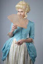 Georgian Woman In Formal Gown