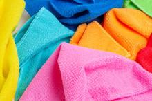 Colored Microfiber Cloths Clos...