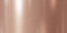 Rose Gold Metal Texture Backgr...