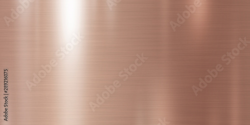 Fototapeta Rose gold metal texture background illustration obraz
