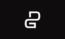 DG Or GD And G Or D Abstract Monogram Letter Mark Vector Logo Template