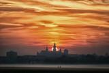 Wawel o wschodzie słońca