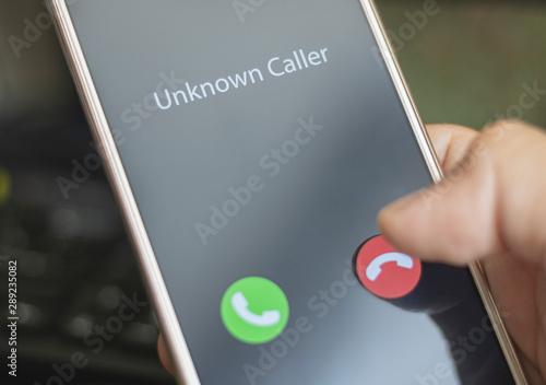Unknown caller Tapéta, Fotótapéta