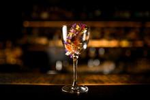 Close-up Of Alcohol Cocktail O...