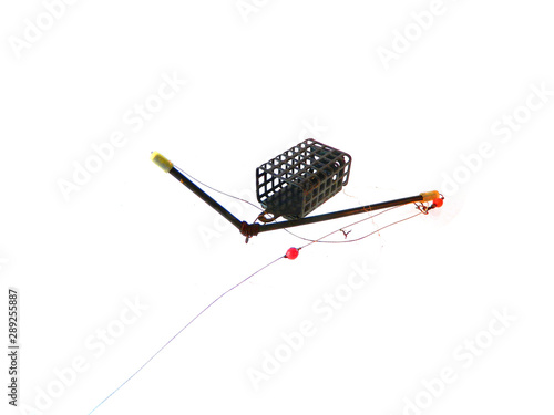 Fotografie, Tablou  fishing tackle isolated on white background