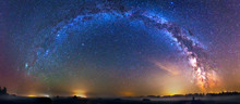 Landscape With Milky Way Galax...