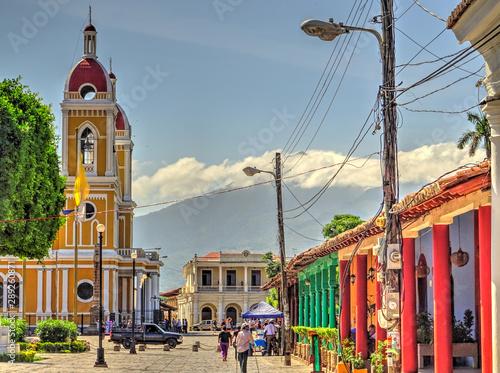 Granada, Nicaragua Fototapeta