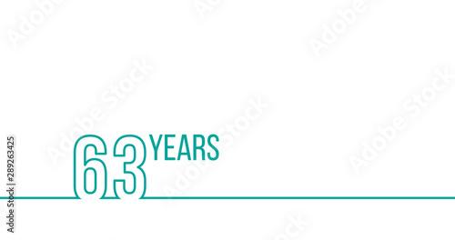 Tela  63 years anniversary or birthday
