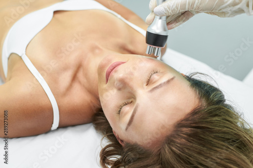 Fotografie, Obraz  Dermatology skin care facial therapy