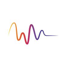Colorful Wave Design Vector Te...