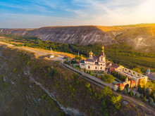 Old Orhei Monastery In Moldova...