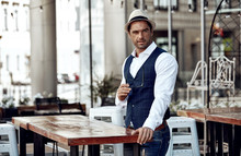 Handsome Man In Daily Casual O...
