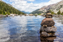 Hot Springs Pool And Rock Stac...