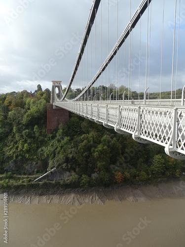 Photo  puente  bridge clifton bristol   inglaterra uk