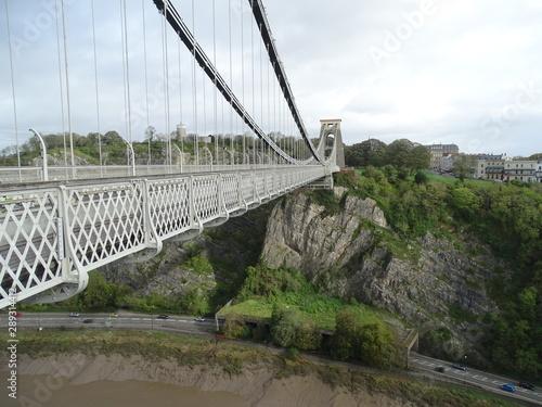 bristol  cifton bridge inglaterra uk Canvas Print