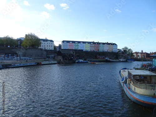 bristol  city docks  inglaterra uk Wallpaper Mural