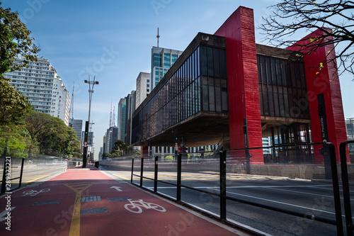 Photo MASP, Avenida Paulista em São Paulo, Brasil