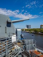 Guns Of Battleship New Jersey