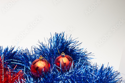 Photo Bolas de Navidad, decoración navideña, Fiesta vacaciones de Navidad, fin de año,
