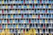 canvas print picture - Facade of modern building in Copenhagen.