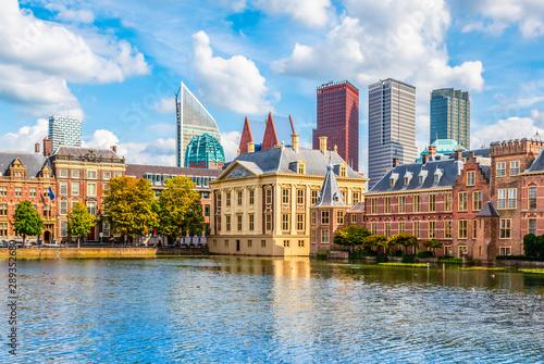 Fotografía  Skyline of the Hague, the Netherlands.