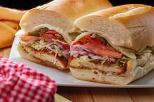 Italian Chicken Cutlet Sandwich