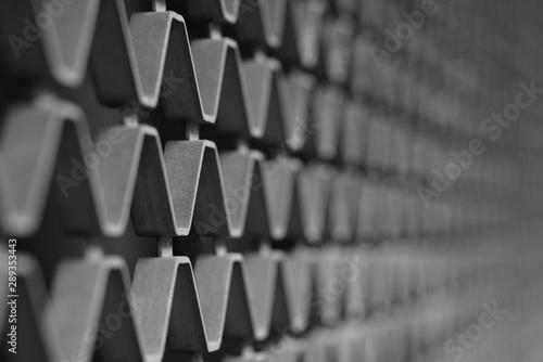 Türaufkleber Darknightsky Fence texture