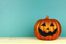 Shiny Halloween Jack O Lantern...
