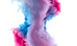 canvas print picture - Acrylic Ink in Water. Color Explosion