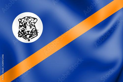 Fotografia  3D Flag of Bophuthatswana (1977-1994), South Africa