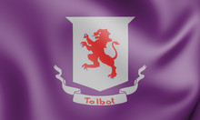 3D Flag Of Talbot County (Mary...