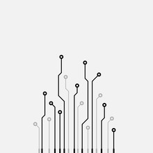 Circuit Board Abstract Vector ...