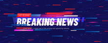 Breaking News Template Title W...