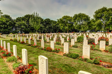 Cemeteries And Monuments To Canadian Soldiers In Normandy, France,
