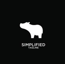 Hippo Modern Logo Icon Designs...
