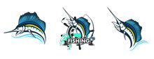 Fishing Logo. Bass Fish With R...