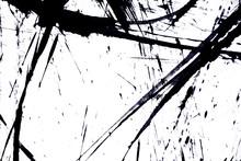 Japan Black Ink Style Splatte...